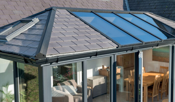 Solid roof replacement in Wiltshire